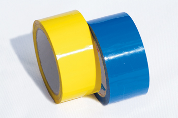 Coloured Vinyl Sealing Tape from Ipswich Packaging.